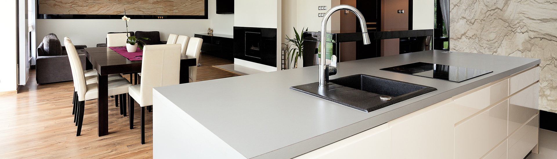 Beautiful Countertop With Elegant Interior